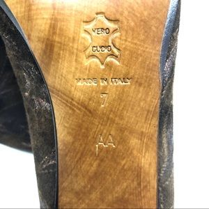 Versani Shoes - Versani Italian Brown Tapestry Leather Pumps 7AA